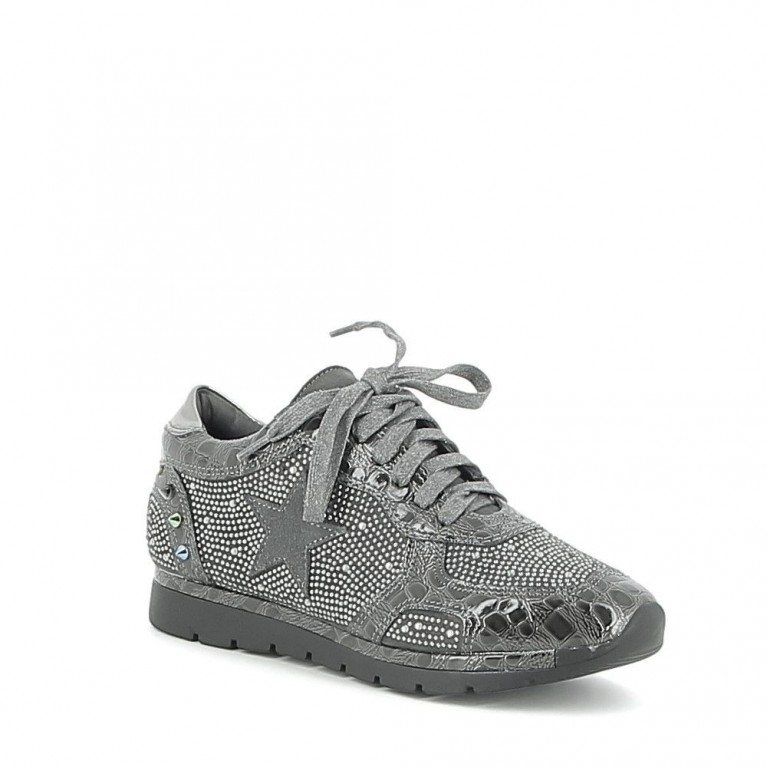 Basket croco et strass